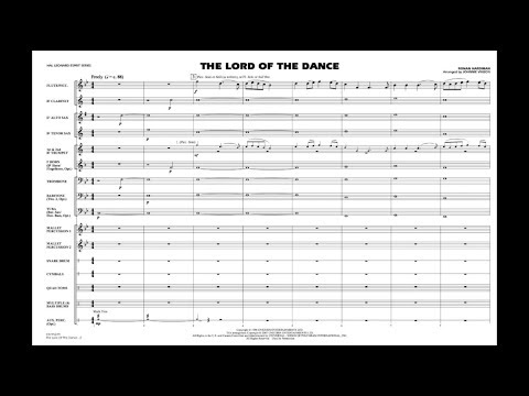 The Lord of the Dance by Ronan Hardiman/arr. Johnnie Vinson