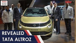 2019 Geneva Motor Show: Tata Altroz Premium Hatchback Revealed