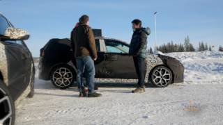 Hyundai i30 N Winter testing in Sweden with Thierry Neuville