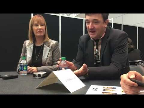 FALLING WATER: Gale Ann Hurd & Blake Masters Interview - NYCC 2016