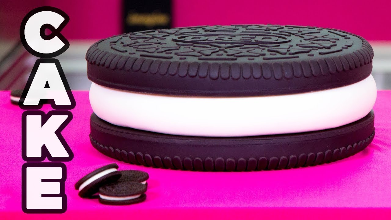 GIANT 8LB OREO! | How To Cake It Step By Step