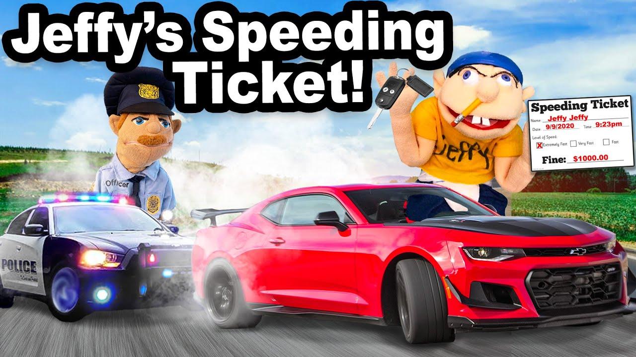 SML Movie: Jeffy's Speeding Ticket!