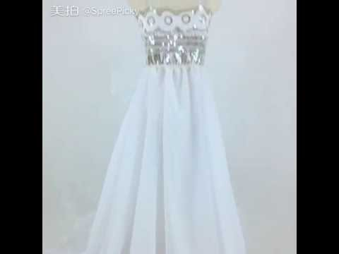 Sailor Moon Princess Serenity Cosplay Long Gown Dress SP152473 - YouTube
