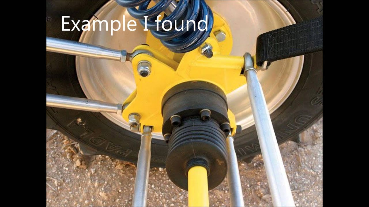 Sand Rail Rear Axle : Link buggy sandrail suspension youtube