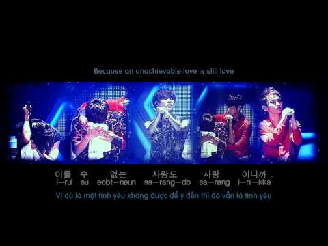 The Name That I Once Loved [EngSub + VietSub] - SHINee The 2nd Concert - SHINee World II