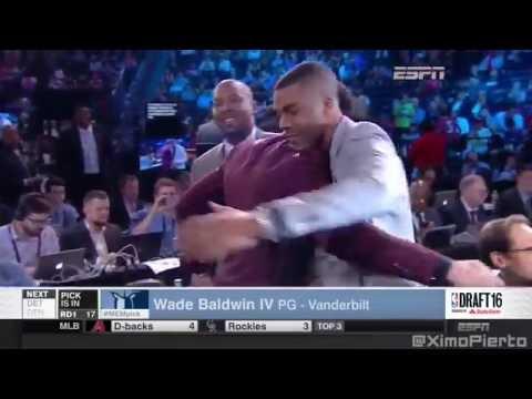 2016 NBA Draft   #17 Pick׃ Wade Baldwin   Memphis Grizzlies