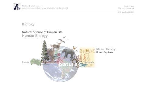 Introducing Human Biology