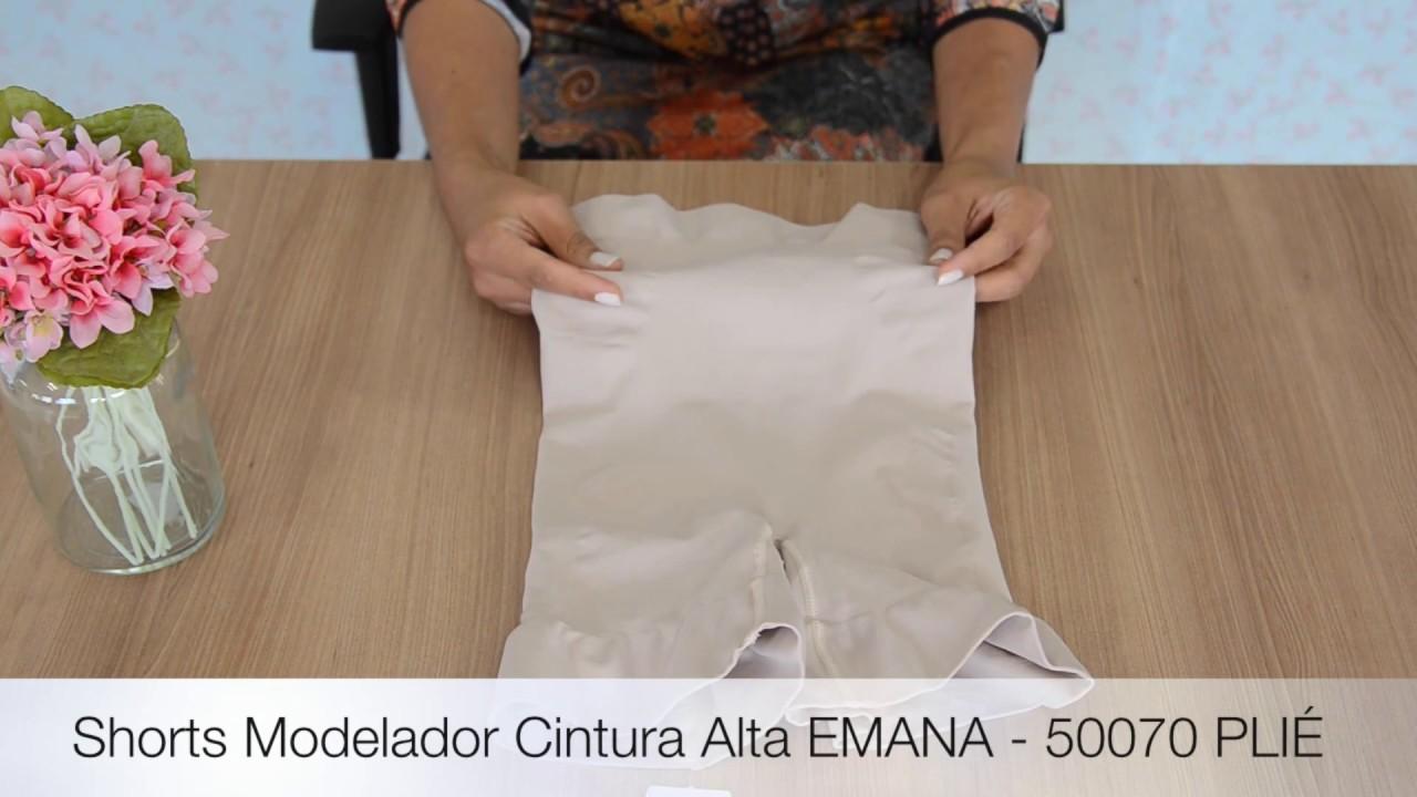 60f10fb24 Shorts Modelador EMANA - 50070 PLIE - YouTube