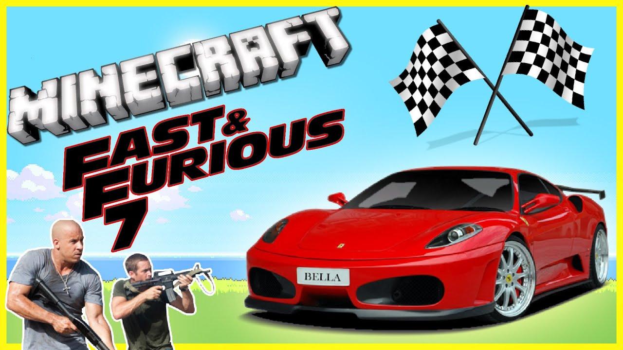 "Minecraft: Fast And Furious 7! ""FERRARI ENZO RACE"