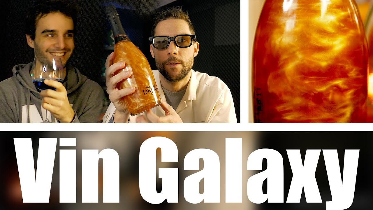 Vin Vulcano VS Vin Bleu avec Dr Nozman ( Galaxy Wine )