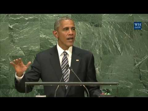 Address by President Obama to the 71st Session of the United Nations General Assembly UNGA