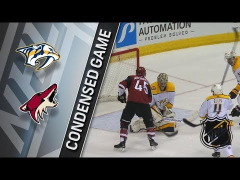 Nashville Predators vs Arizona Coyotes – Mar. 15, 2018 | Game Highlights | NHL 2017/18. Обзор