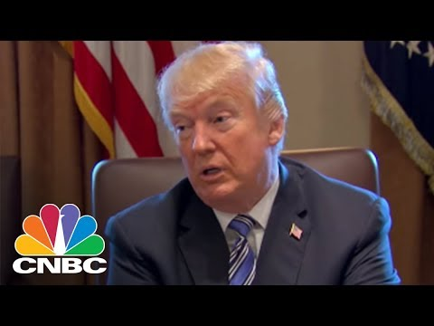 President Donald Trump: Likely No Tariffs On Mexico And Canada If NAFTA Deal Reached | CNBC