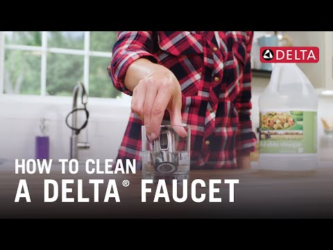 How To Clean a Delta® Faucet