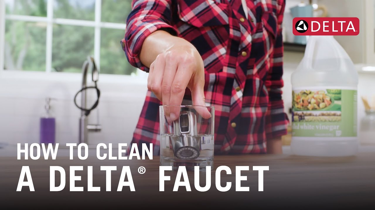 How To Clean A Delta Faucet Youtube