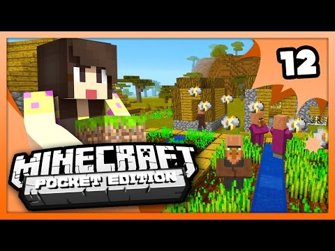 Minecraft PE (Pocket Edition) - THE ANGRIEST VILLAGER! - Ep 12