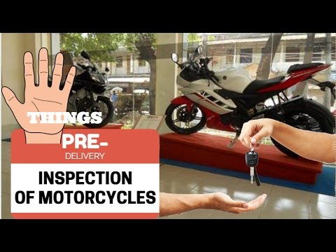 5 THINGS TO CHECK || PRE-DELIVERY INSPECTION OF NEW BIKE VLOG!!- BANG2W