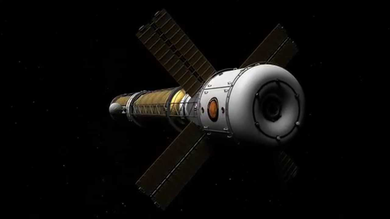 nuclear powered manned spacecraft design - photo #40