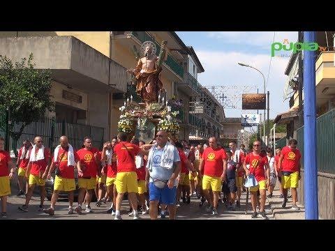 Gricignano - Festa Sant'Andrea 2017, al via la processione (27.08.17)