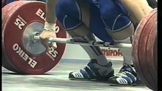 European Weightlifting Championships 2004. Ukraine. Kiev. Category 94kg