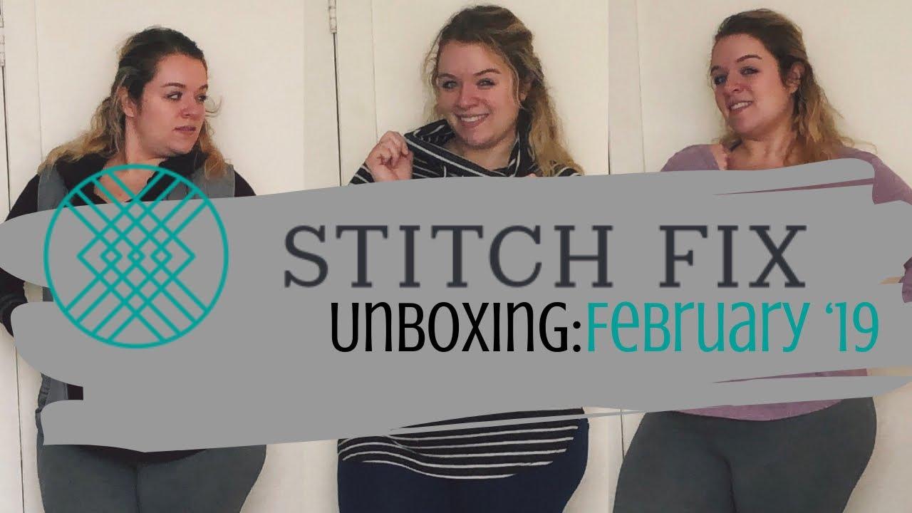 Stitch Fix Unboxing: February '19 | Sarah Lokker