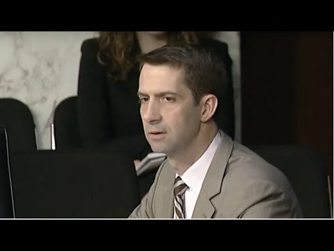 TOM COTTON JUST SILENCED THE ENTIRE SENATE WITH WHAT HE LEAKED ABOUT HILLARY CLINTON!