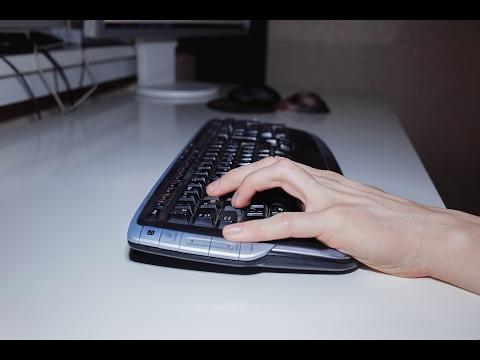 Как располагать пальцы на клавиатуре