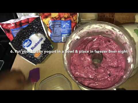 Making Frozen Yogurt with Ms. Skylour from Garcia YMLA