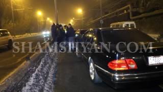 Ավտովթար Երևանում  «Բելաջիո» ռեստորանային համալիրի մոտ բախվել են 5 ավտոմեքենաներ