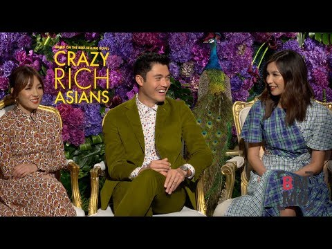 Constance Wu, Henry Golding & Gemma Chan   Crazy Rich Asians