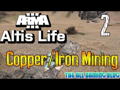 Arma 3: Altis Life | Beginners Guide | Part 2 | Mining