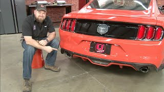 2015-2016 Mustang V6/EcoBoost Roush Axle-Back Exhaust Installation