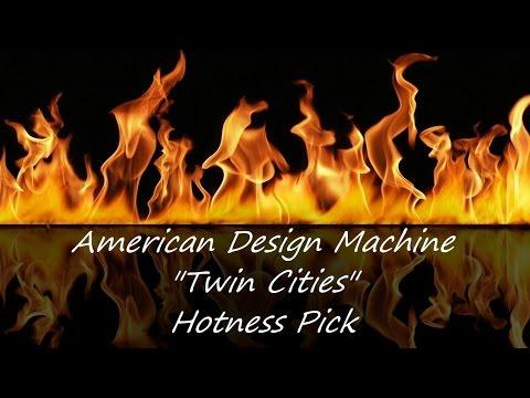 Hotness Pick - American Design Machine Twin Cities Tripe Timezone Ana-Digi