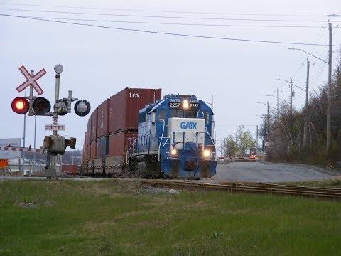CN & VIA Rail Action In Atlantic Canada May 2019