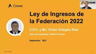 Iniciativa de Reformas Fiscales 2022