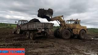 Погрузка (ПК-6) и вывоз навоза (ЗИЛ,МТЗ-1221)