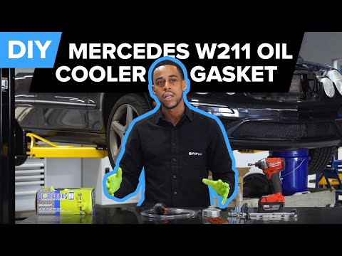 How To Replace The Engine Oil Cooler Gasket On A Mercedes-Benz E350, C300, SLK350, & More (M272)