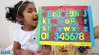 Happy Toddler Ishfi Learn Alphabet Phonic Song I Kids Educational Video