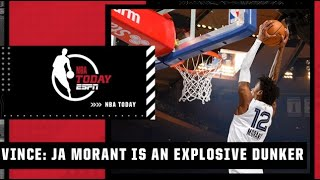 Vince Carter breaks down why Ja Morant is such an explosive dunker | NBA Today