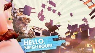 NO WALLS HACKS!! and BEHIND THE DOOR (Hello Neighbor / Hello Neighbour Gameplay)