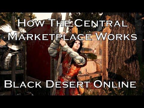 How the Central Marketplace Works (2019) - Black Desert Online [BDO]