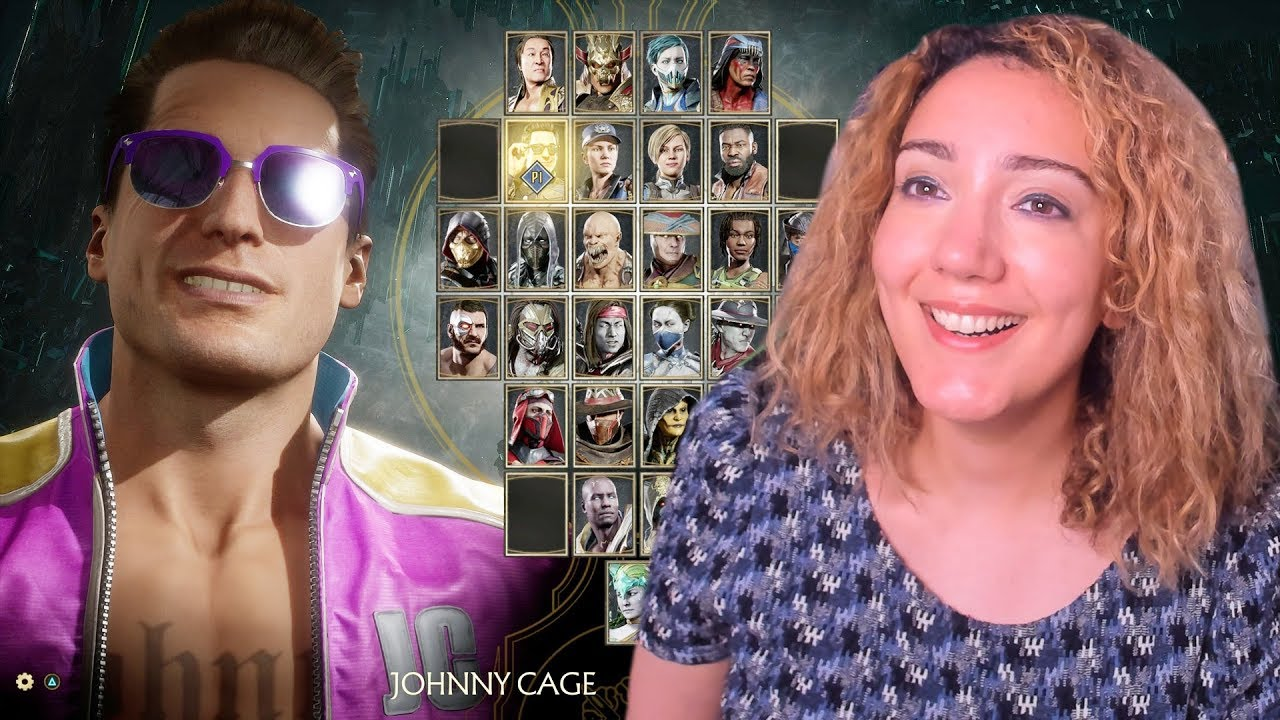 Download Reacting to Johnny Cage Announcer Voice in Mortal Kombat 11 Character Select Screen