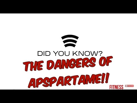 THE DANGERS OF ASPARTAME