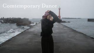 小雨ふきつける港でコンテンポラリーダンス | Contemporary dance in Muroto City, Japan