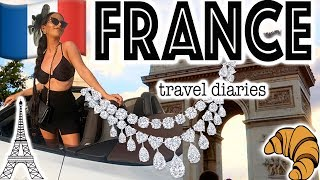A VERY #EXTRA FRANCE TRAVEL VLOG!