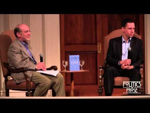"""Peter Thiel """"Zero to One"""""""