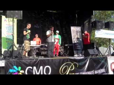 Festival Maghreb en folie Montreal-Rap
