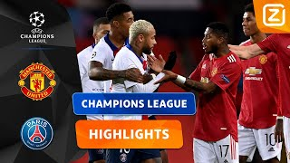 ÉÉN EN AL STRIJDLUST! ⚔️🔥 | Manchester United vs PSG | Champions League 2020/21 | Samenvatting