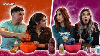 YouTubers VS Slime | Con fórmula secreta
