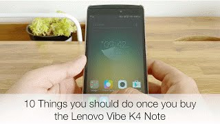 Lenovo K4 Note features (10 things you should do)